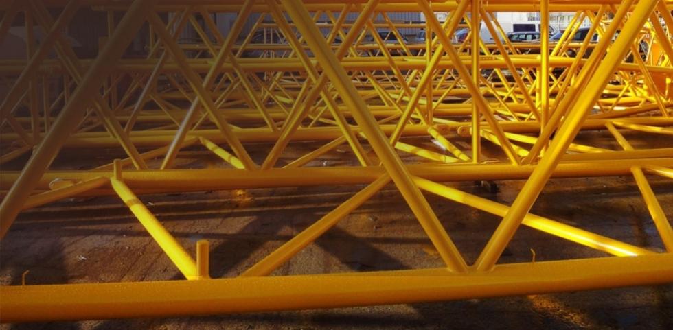 Straal- & spuitwerk industriële objecten