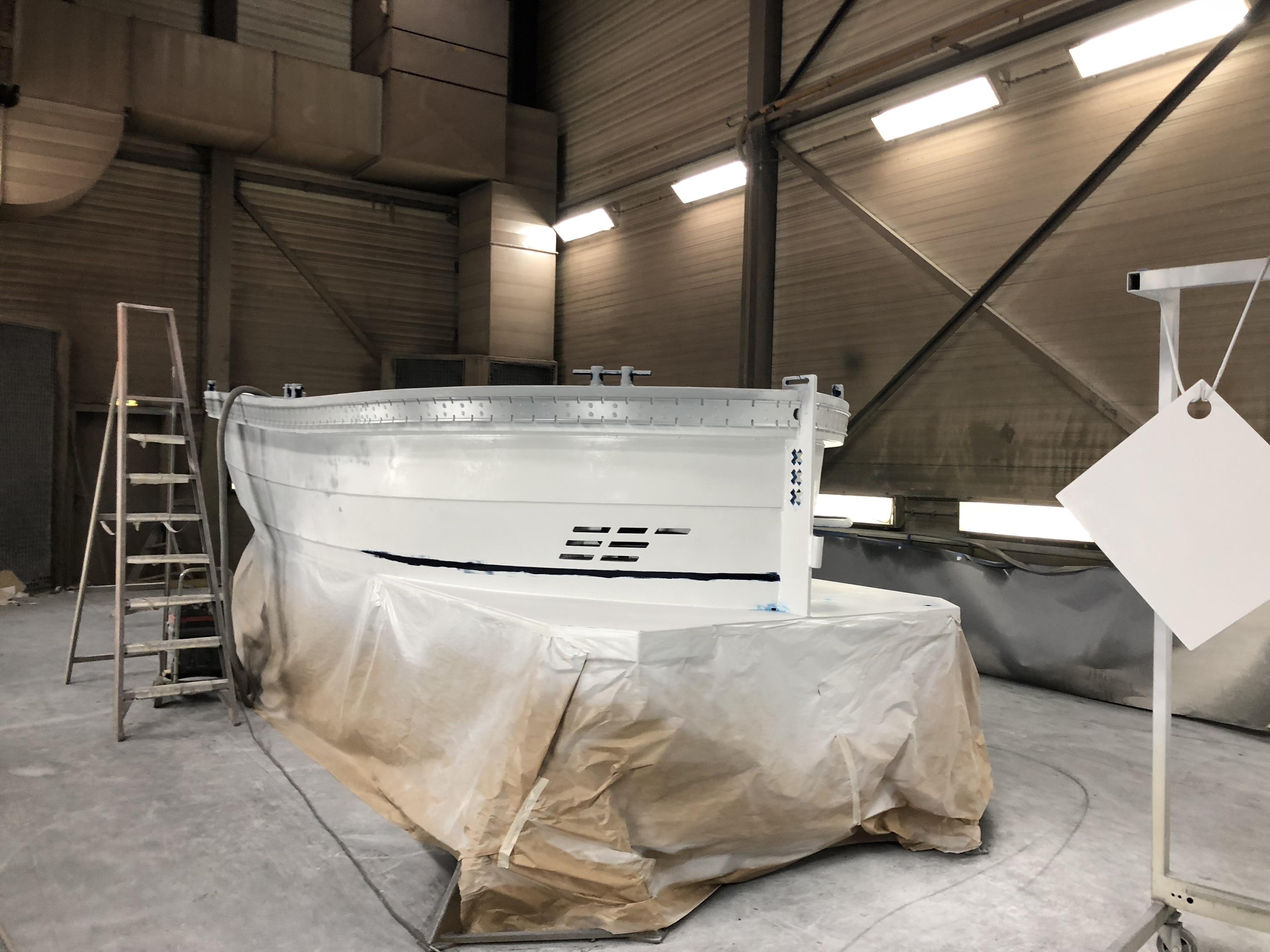 Lekker Boats coating by Van der Griend Spuiterijen